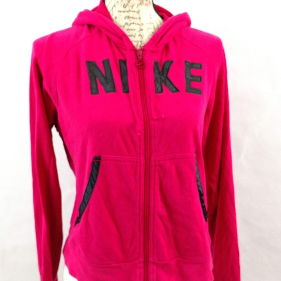 c6405df5c3c3a6 Size Large Women's Nike Zip Up Hoodie Pink Clothing, Shoes & Accessories